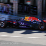 Monaco Formula 1 2013 red bull shadow side