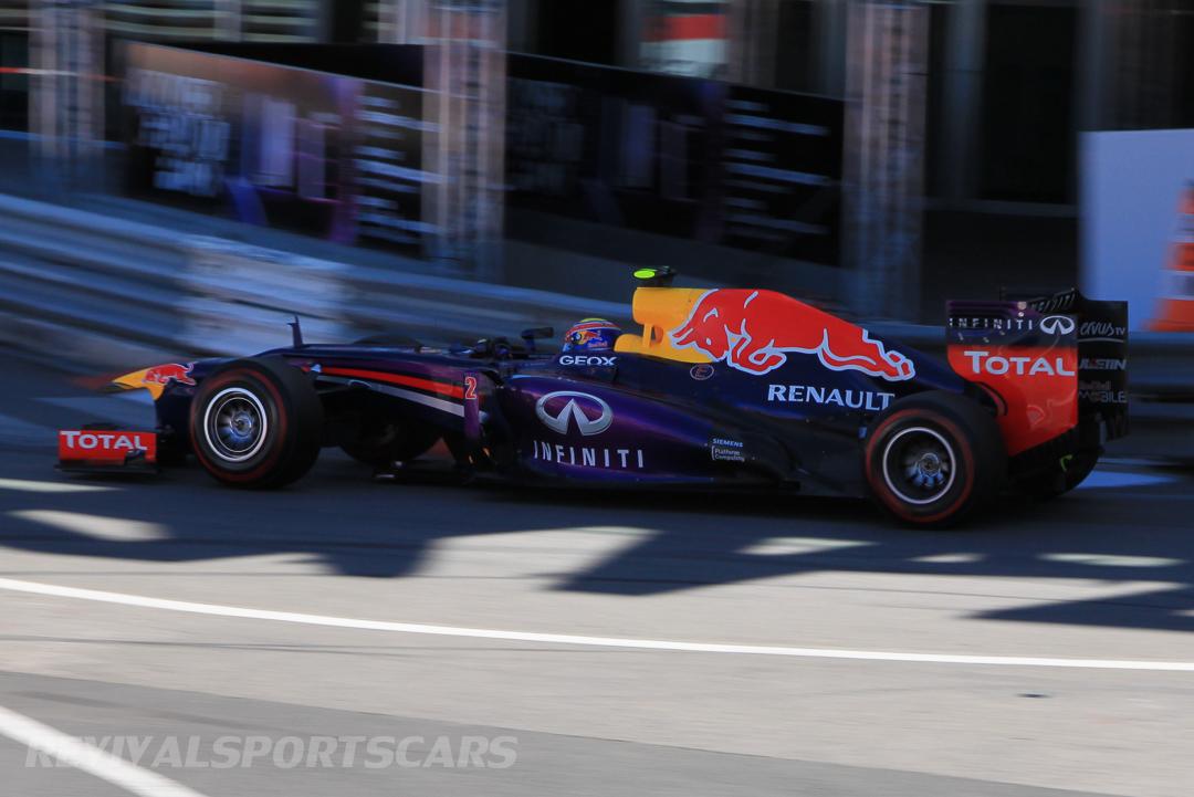 Monaco Formula 1 2013 red bull shadow side