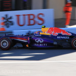 Monaco Formula 1 2013 red bull side view