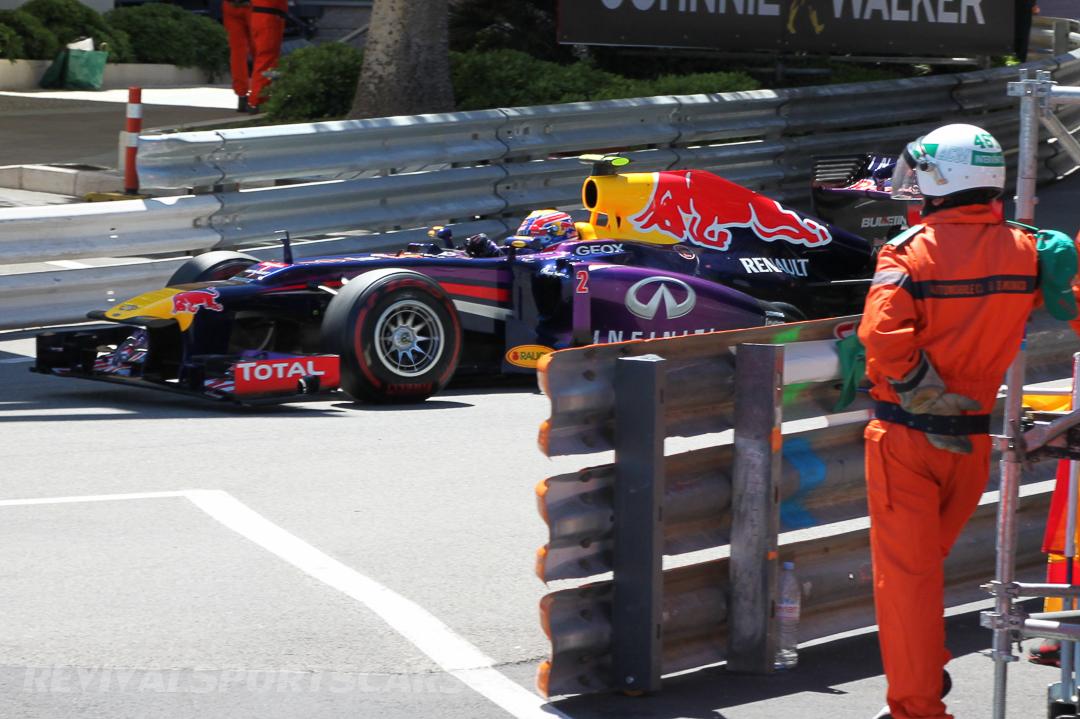 Monaco Formula 1 2013 red bull speed