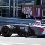 Monaco Formula 1 2013 sauber profile