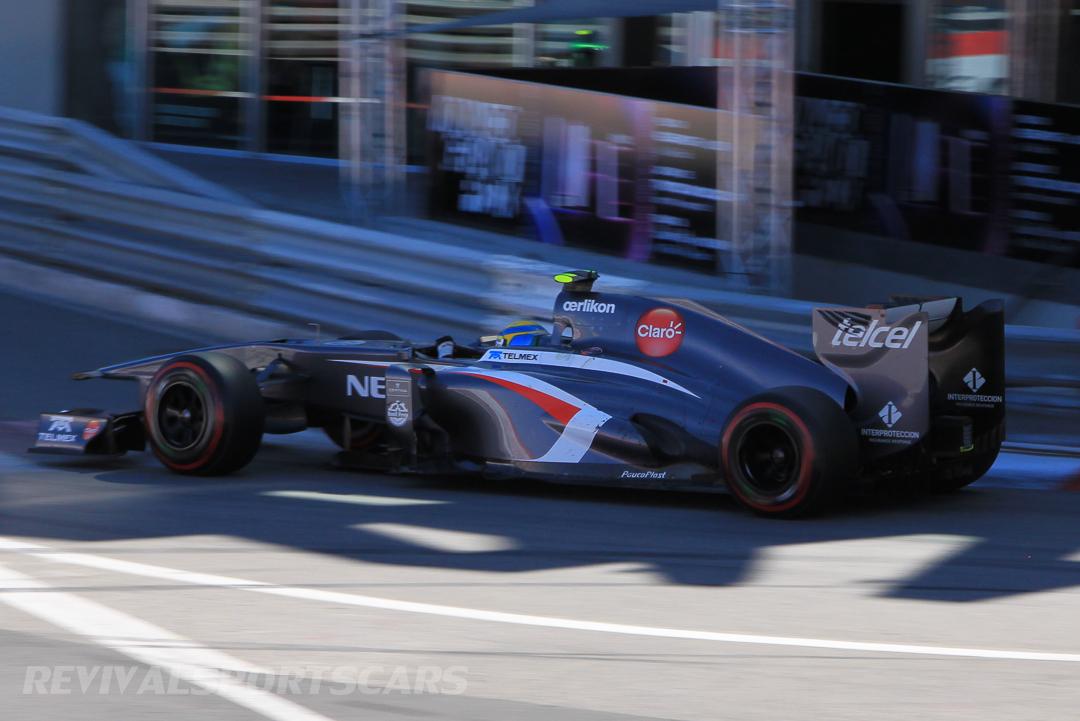 Monaco Formula 1 2013 sauber shadow
