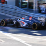 Monaco Formula 1 2013 sauber side shadow