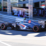 Monaco Formula 1 2013 sauber side view