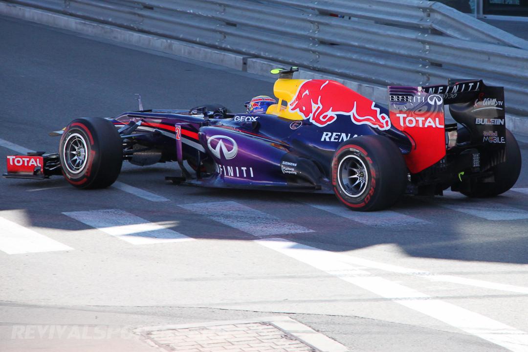 Monaco Formula 1 2013 shadow red bull