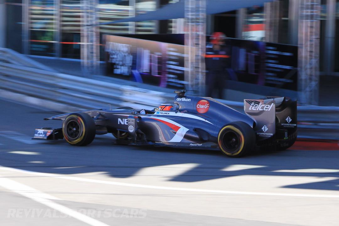 Monaco Formula 1 2013 shadow sauber
