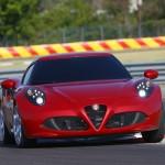 Alfa Romeo 4C UK  2014 Red low cornering speed (1280x852)