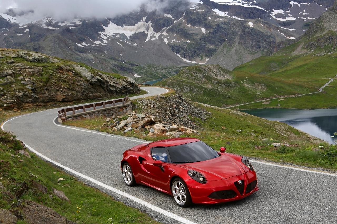 Alfa Romeo 4C UK  2014 Red mountain pass speed (1280x851)