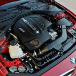 BMW M235i launch red engine closeup (1280x853)