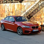 BMW M235i launch red front harbour angle (1280x853)