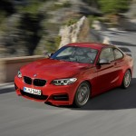 BMW M235i launch red front motion (1280x853)