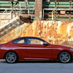 BMW M235i launch red offside harbour (1280x853)