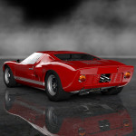 Gran Turismo 6 Ford GT40 mk1 1966 rear