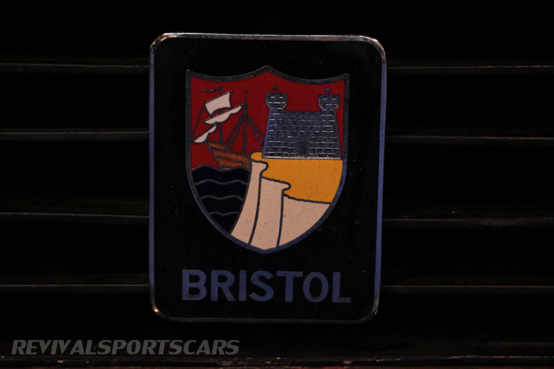Lancaster Insurance Classic Car Show NEC (100 of 250) Bristol badge closeup
