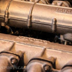 Lancaster Insurance Classic Car Show NEC (102 of 250) Ferrari bb512i engine closeup