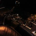 Lancaster Insurance Classic Car Show NEC (103 of 250) Ferrari bb512i gear shifter manual metal closeup