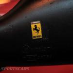 Lancaster Insurance Classic Car Show NEC (108 of 250) Ferrari bb512i wing mirror painted badge