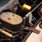 Lancaster Insurance Classic Car Show NEC (110 of 250) Porsche 550 spyder engine closeup