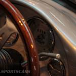 Lancaster Insurance Classic Car Show NEC (112 of 250) Porsche 550 spyder dash closeup