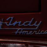 Lancaster Insurance Classic Car Show NEC (114 of 250) Maserati Indy badge closeup