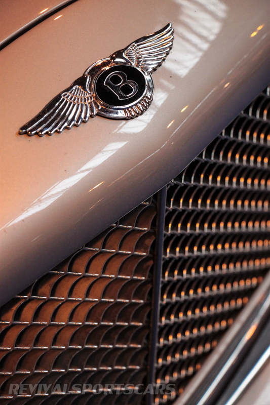 Lancaster Insurance Classic Car Show NEC (120 of 250) Bentley Arnage grill silver closeup