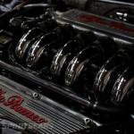 Lancaster Insurance Classic Car Show NEC (126 of 250) Alfa Romeo engine V6 polished