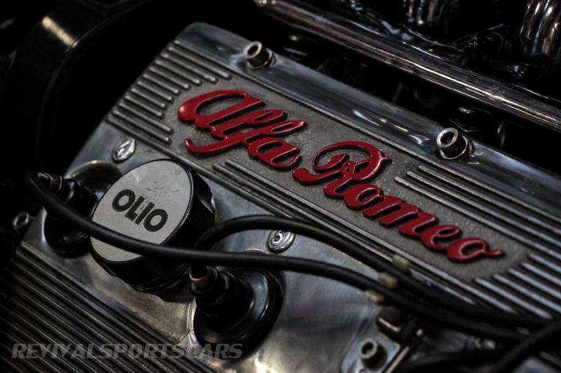 Lancaster Insurance Classic Car Show NEC (127 of 250) Alfa Romeo engine block detail