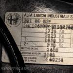 Lancaster Insurance Classic Car Show NEC (128 of 250) Alfa Romeo vin badge closeup