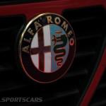 Lancaster Insurance Classic Car Show NEC (129 of 250) Alfa Romeo front grill