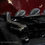 Lancaster Insurance Classic Car Show NEC (131 of 250) Alfa Romeo engine detail GTA
