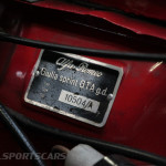 Lancaster Insurance Classic Car Show NEC (132 of 250) Alfa Romeo vin badge closeup