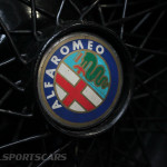 Lancaster Insurance Classic Car Show NEC (134 of 250) alfa romeo wire wheel closeup