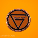 Lancaster Insurance Classic Car Show NEC (154 of 250) Ginetta front badge