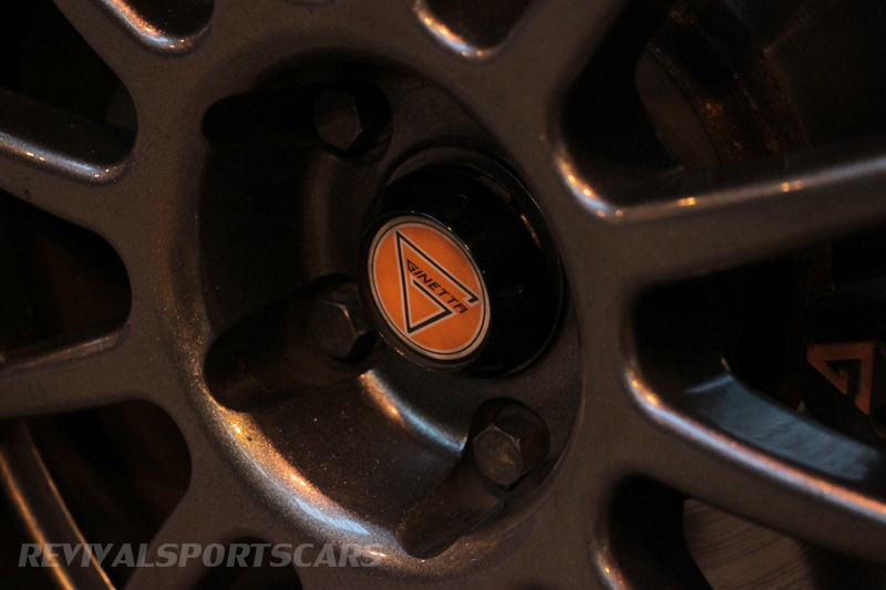 Lancaster Insurance Classic Car Show NEC (157 of 250) Ginetta racer wheel