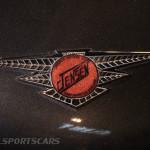 Lancaster Insurance Classic Car Show NEC (160 of 250) Jensen badge closeup