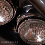 Lancaster Insurance Classic Car Show NEC (161 of 250) Jensen front lights closeup
