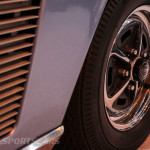 Lancaster Insurance Classic Car Show NEC (163 of 250) Jensen FF vent and front wheel