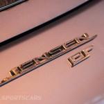 Lancaster Insurance Classic Car Show NEC (164 of 250) Jensen FF badge rear