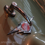 Lancaster Insurance Classic Car Show NEC (165 of 250) Jensen badge and handle