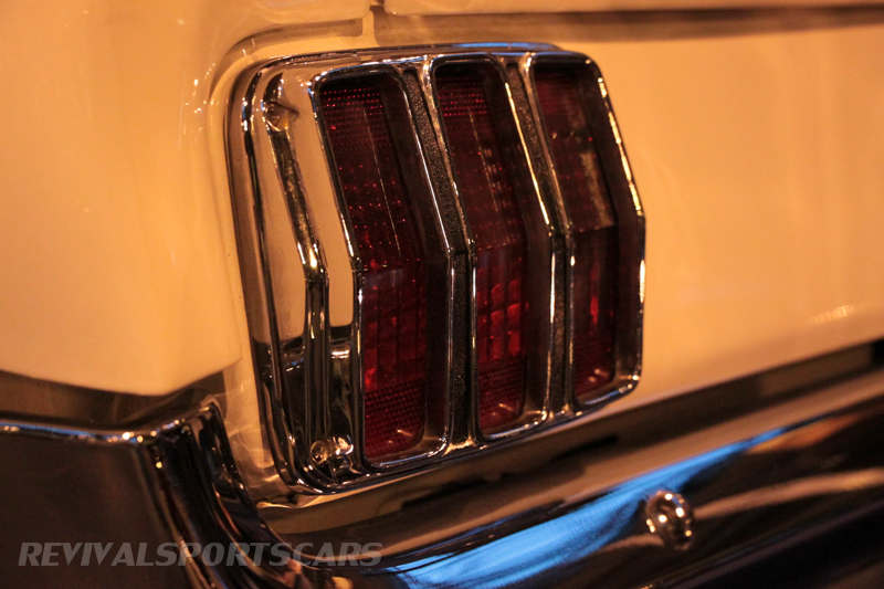 Lancaster Insurance Classic Car Show NEC (172 of 250) Ford Mustang rear light closeup