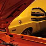 Lancaster Insurance Classic Car Show NEC (186 of 250) Dart Swinger engine cover