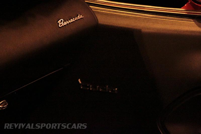 Lancaster Insurance Classic Car Show NEC (187 of 250) Barracuda dash detail