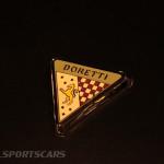 Lancaster Insurance Classic Car Show NEC (206 of 250) Doretti badge closeup