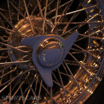 Lancaster Insurance Classic Car Show NEC (207 of 250) Doretti wire wheel closeup