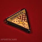Lancaster Insurance Classic Car Show NEC (209 of 250) Doretti badge detail