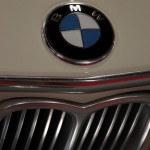 Lancaster Insurance Classic Car Show NEC (211 of 250) BMW 3.0 CSL front grill and badge detail