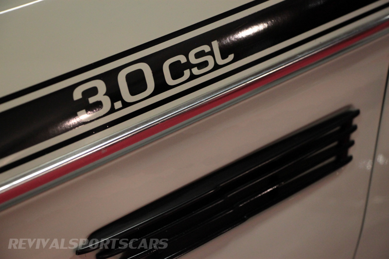 Lancaster Insurance Classic Car Show NEC (212 of 250) 3.0 CSL badge closeup