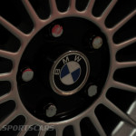 Lancaster Insurance Classic Car Show NEC (213 of 250) BMW 3.0 CSL alloy wheel closeup