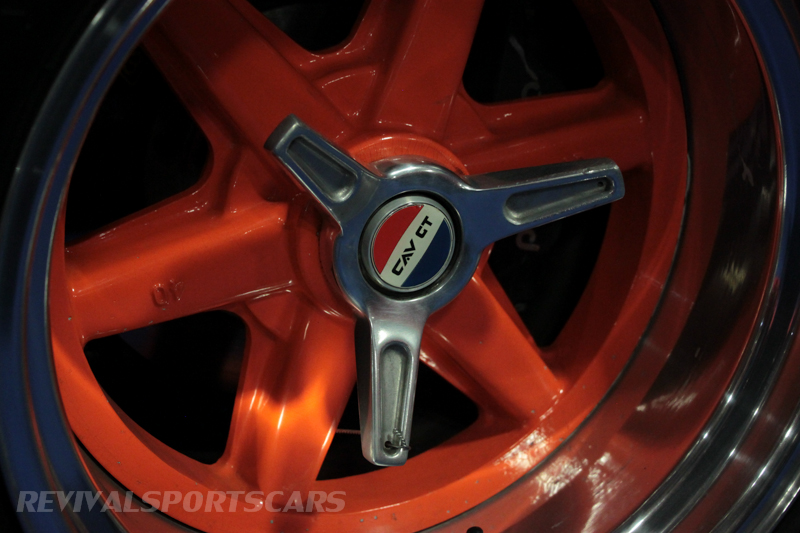 Lancaster Insurance Classic Car Show NEC (239 of 250) Ford GT40 alloy wheel