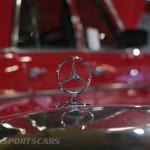 Lancaster Insurance Classic Car Show NEC (245 of 250) Mercedes grill badge